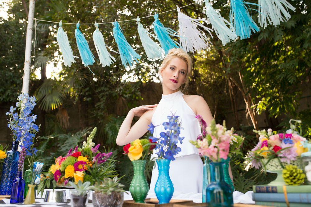 חתונת קיץ בגן אירועים בשרון